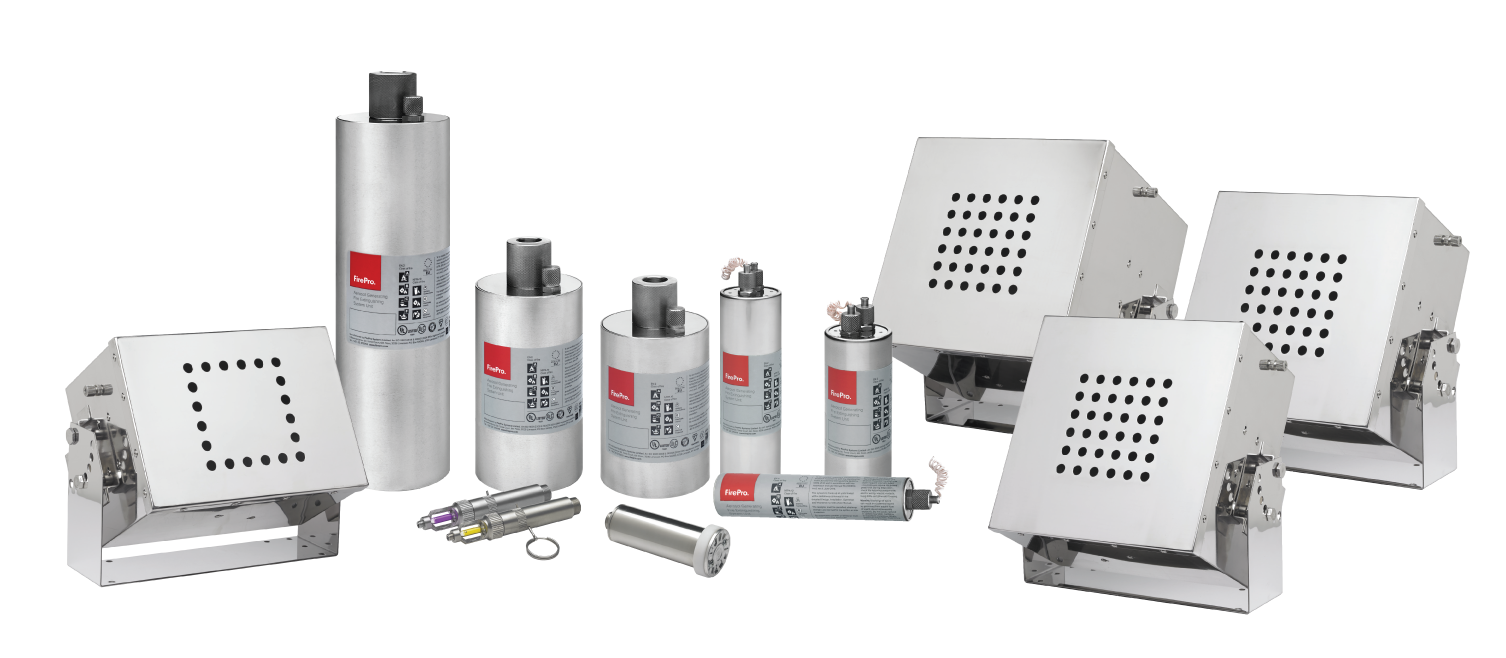 Automatic fire suppression systems by FirePro