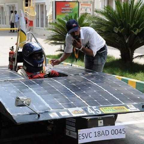 Team Solarium <br> Electric Solar Vehicle Championship