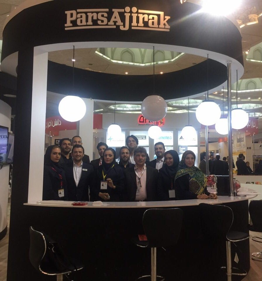 Pars Ajirak team in IPAS Expo